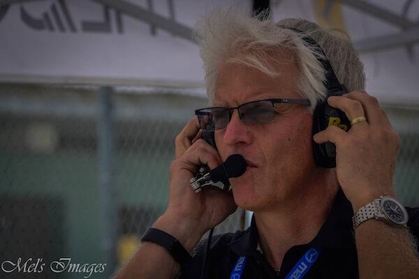 Jeff Braun, race car engineer