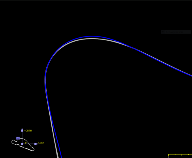 "Image #3: GPS visualization of ""The Racing Line"""