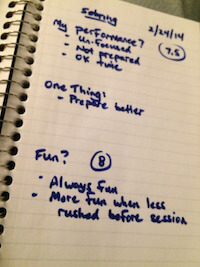 Sebring notes