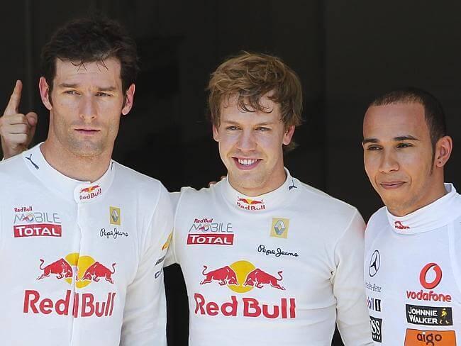 Webber-Vettel-Hamilton