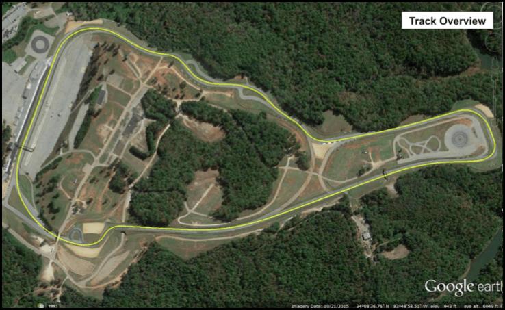 Beautiful Road Atlanta Virtual Track Walk
