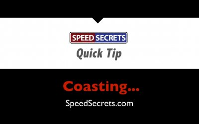 Q: Is it okay to lift off the throttle & coast before braking?