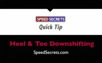 Q: How do I brake lighter while heel & toe downshifting?