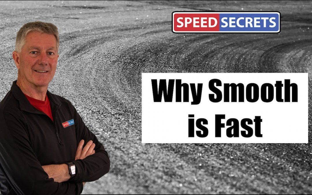Q: How do I know whether I'm too smooth or not smooth enough when driving on track?